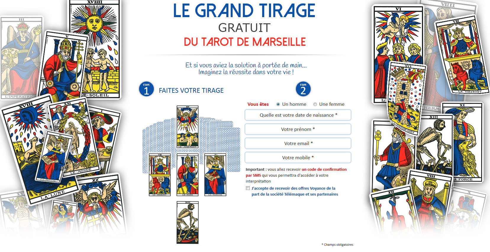 tarot de marseille tirage gratuit pour 2015. Black Bedroom Furniture Sets. Home Design Ideas